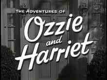 The Adventures of Ozzie and Harriet Title Card
