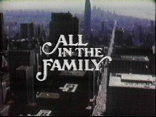 All In The Family Title Card