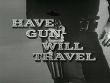 Have Gun - Will Travel Logo