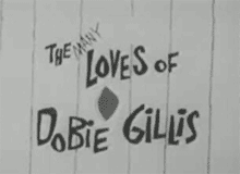 The Many Loves of Dobie Gillis Title Card