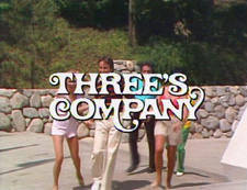 Three's Company Title Card